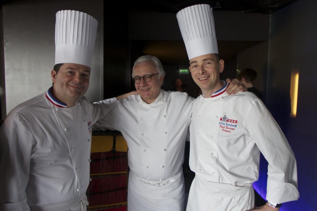 Christophe Muller, Alain Ducasse, Gilles Reinhardt ©GP