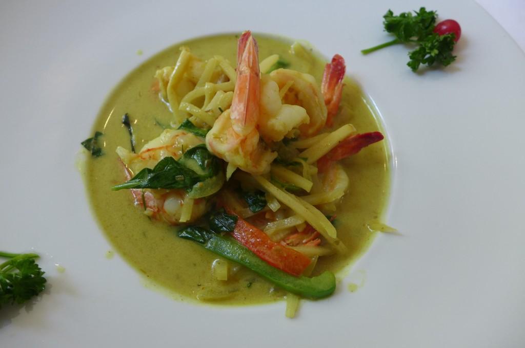 Crevettes au curry thaï © GP