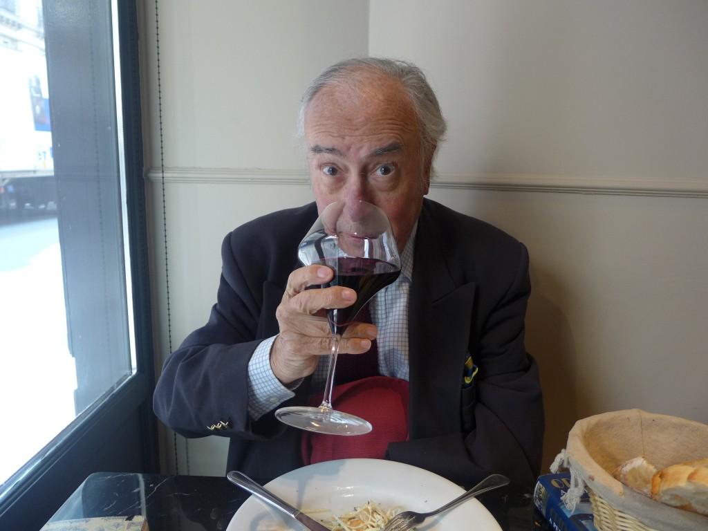 Nicolas de Rabaudy au Bistro des Gastronomes © GP
