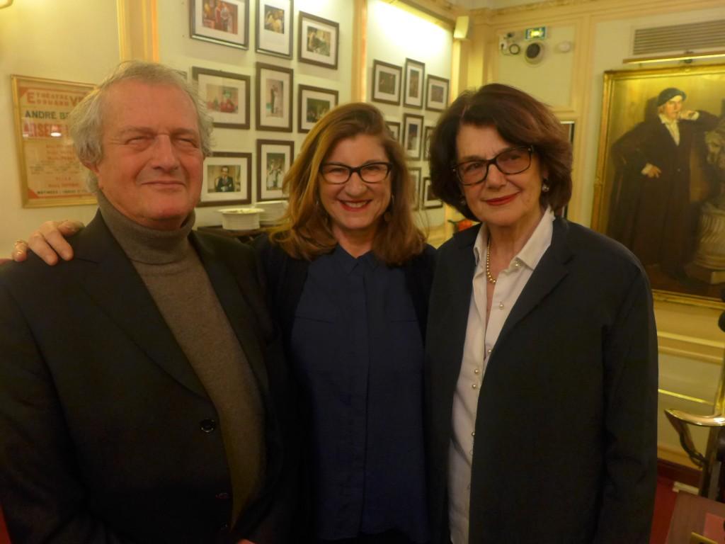Philippe Alexandre, Andrée Zanat-Murat et Marylène Gars-Chambas © GP