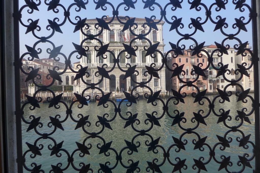 Vue sur le Grand Canal depuis la Fondation Guggenheim © GP