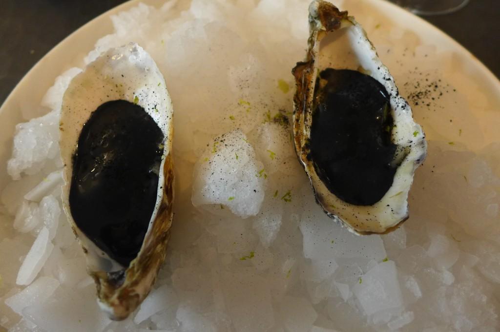 Huîtres et mayonnaise fumée © GP