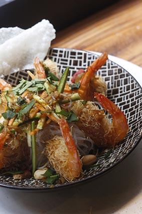 Crevettes en kadaïf ©Maurice Rougemont