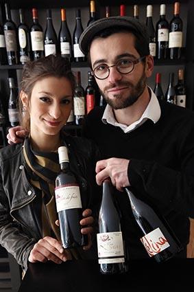 Simon Delpérié et Laetitia ©Maurice Rougemont