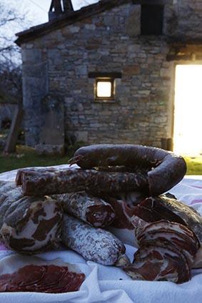 Boudin et saucisses © Maurice Rougemont