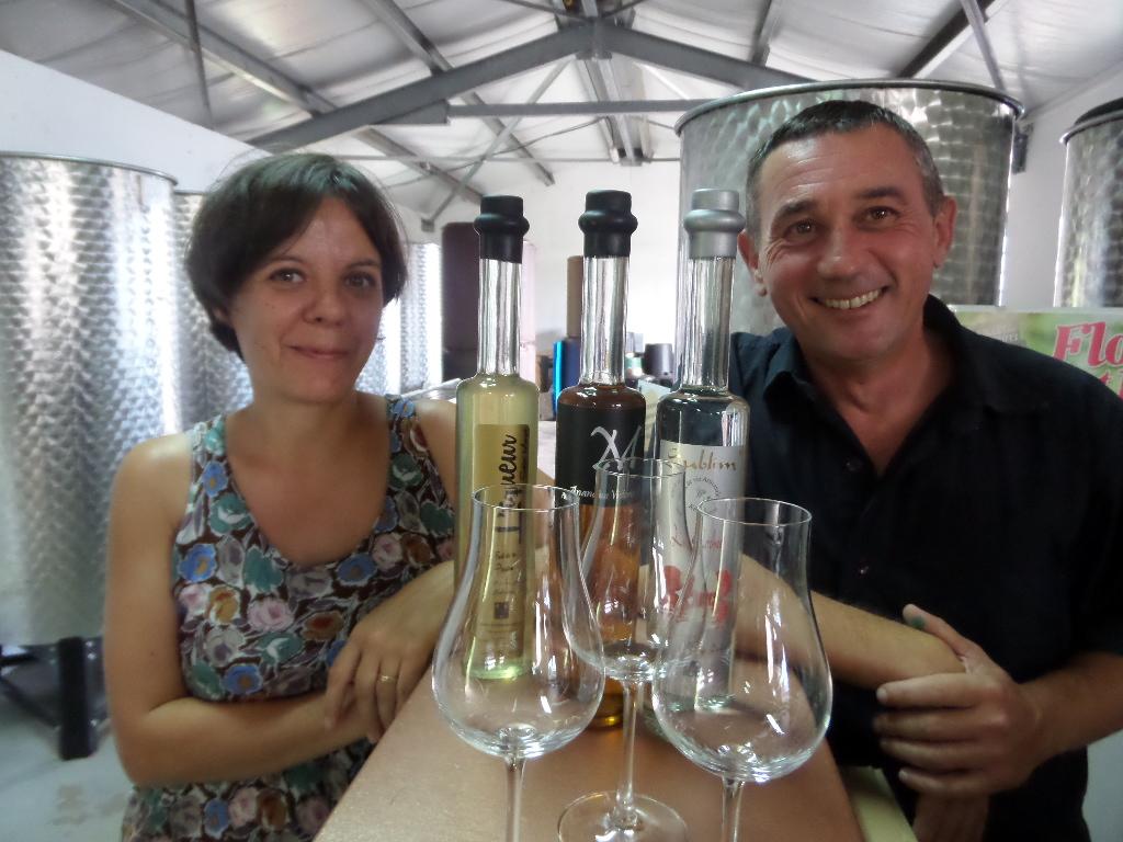 Céline et Ludovic Maufras © GP