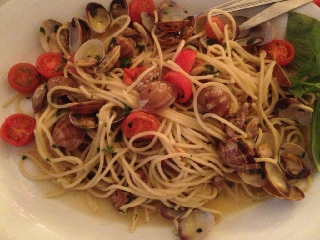 Spaghetti aux vongole ©GP