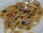 Spaghetti aux sardines © GP