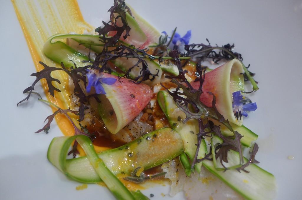 Daurade et légumes ‹© GP