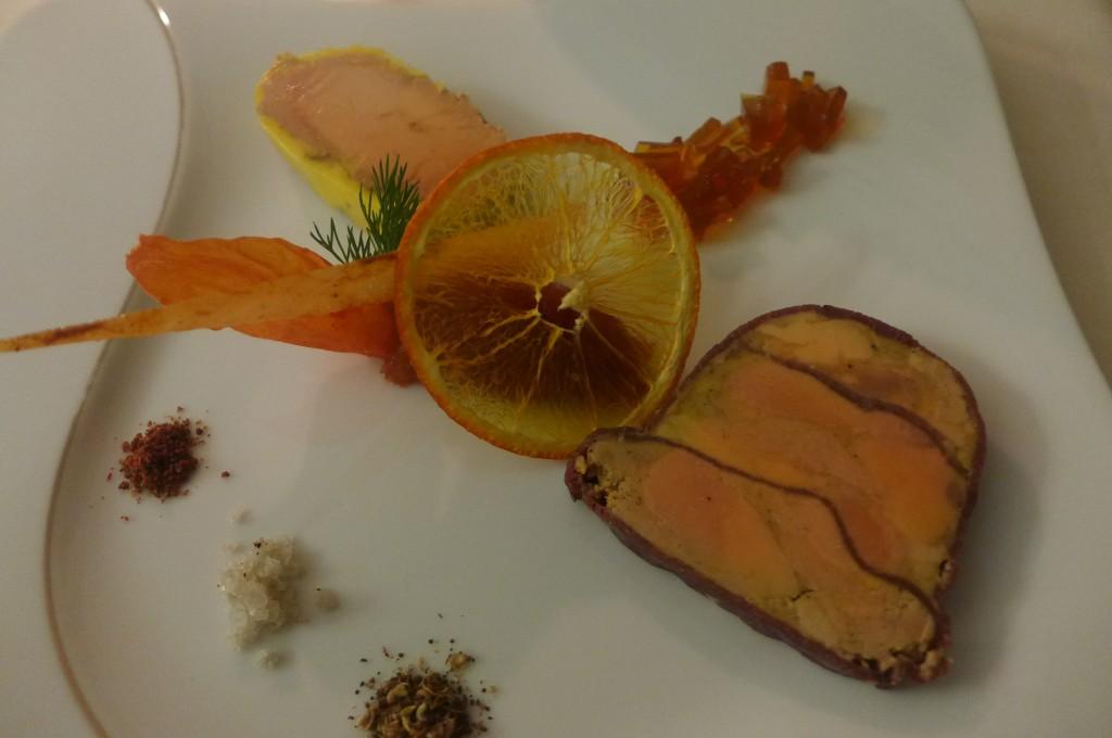 Foie gras au naturel et au jambon de marcassin © GP
