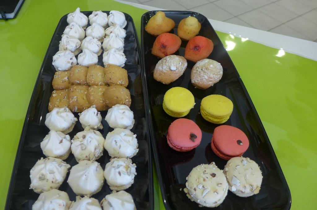 Des gâteaux à la dragée et à la groseille © GP
