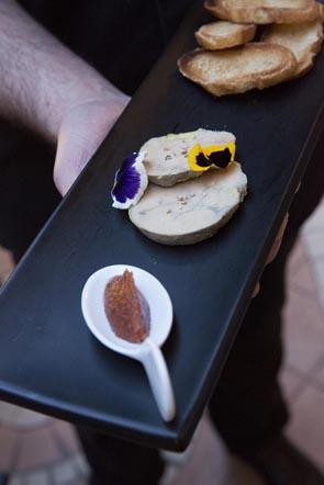 Foie gras aux épices © Maurice Rougemont