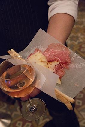 Un casse-croûte à l'italienne ©Maurice Rougemont