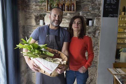 Xavier et Sandrine Lecharny ©Maurice Rougemont