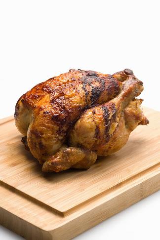 Un poulet rôti © JPE