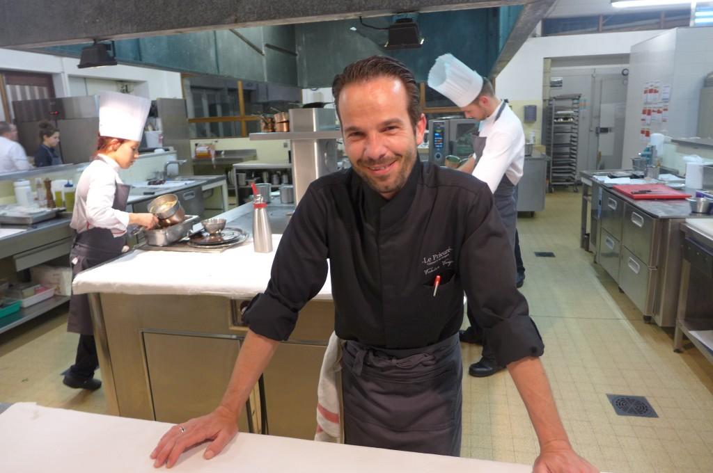 Fabien Fages en cuisine ©GP