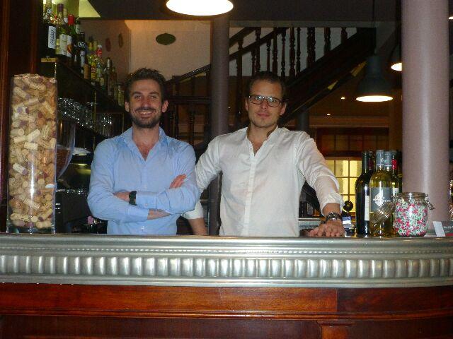 Julien et Victor ©DC