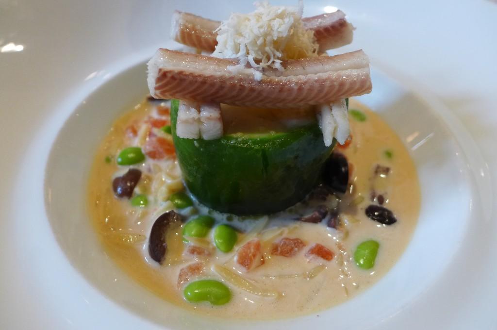 Lotte et anguille © GP