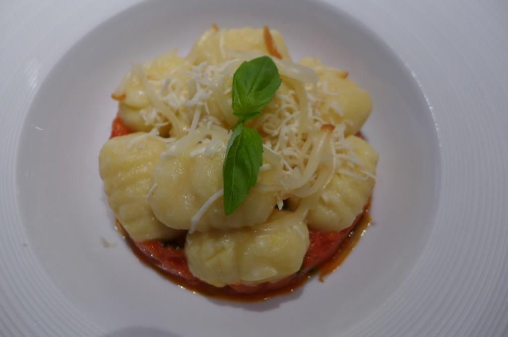 Gnocchi au velours de tomate © GP