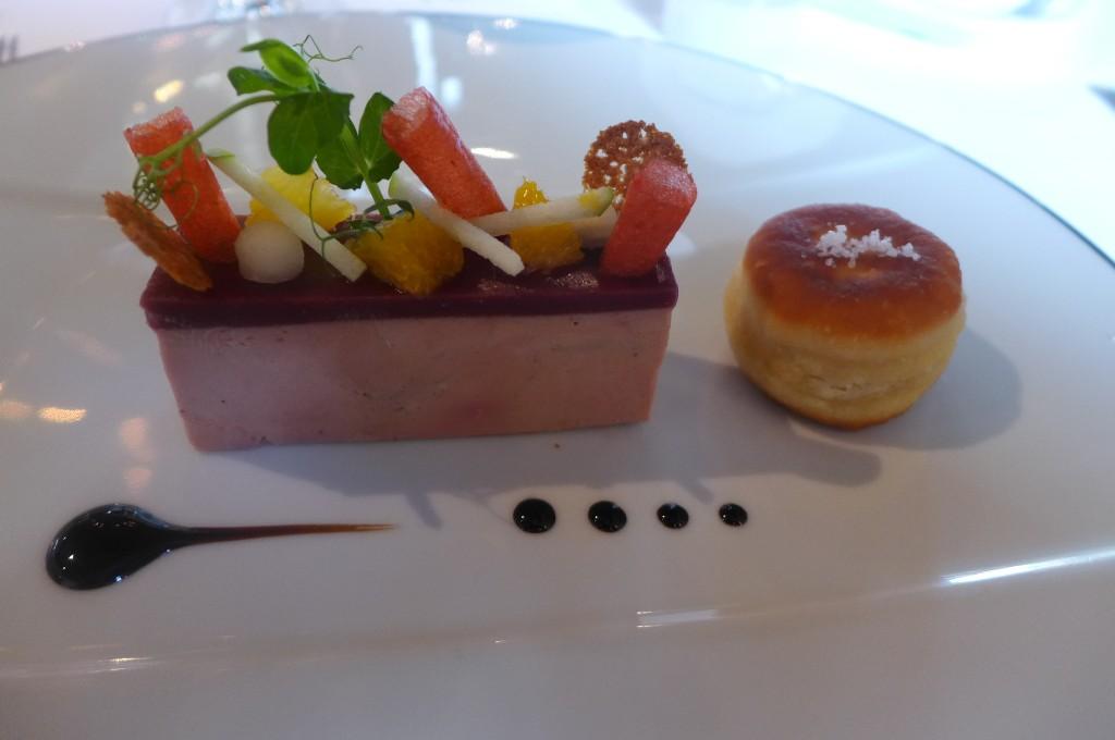 Foie gras et senteurs de vin chaud © GP