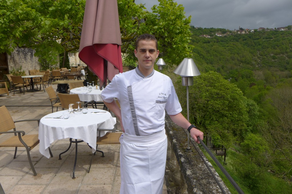 Xavier Menot en terrasse ©GP