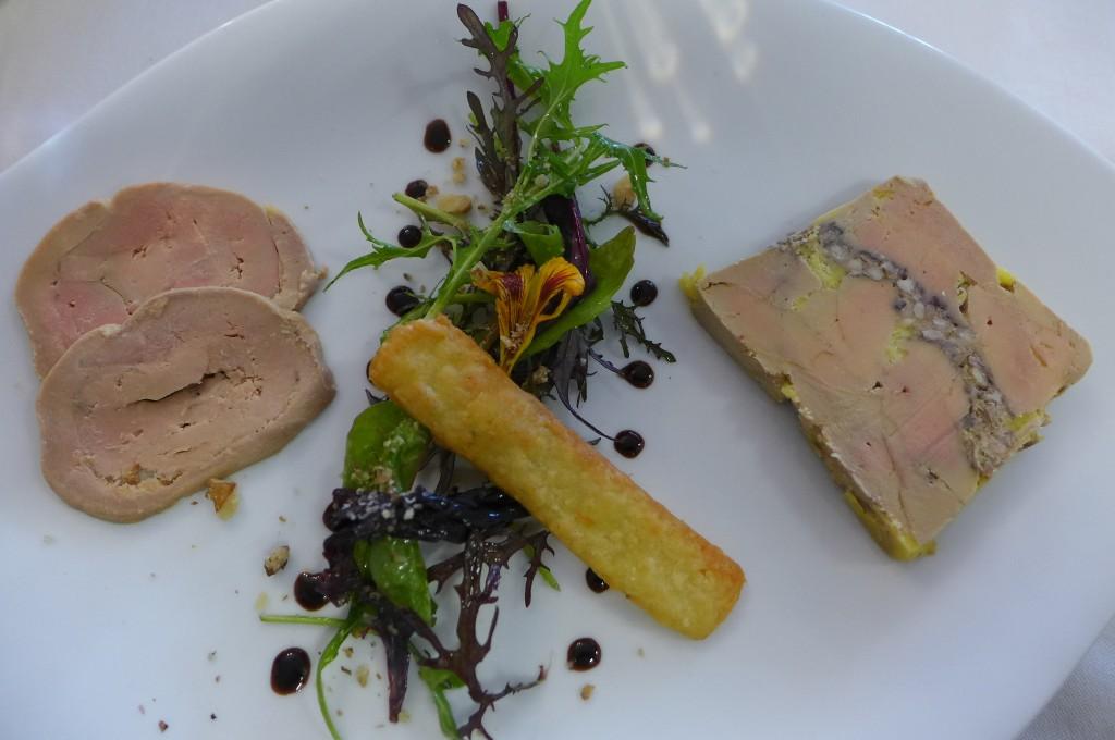 Duo de foie gras ©GP