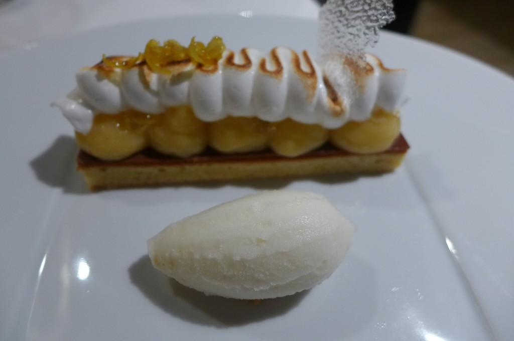 Tarte au citron en génoise © GP