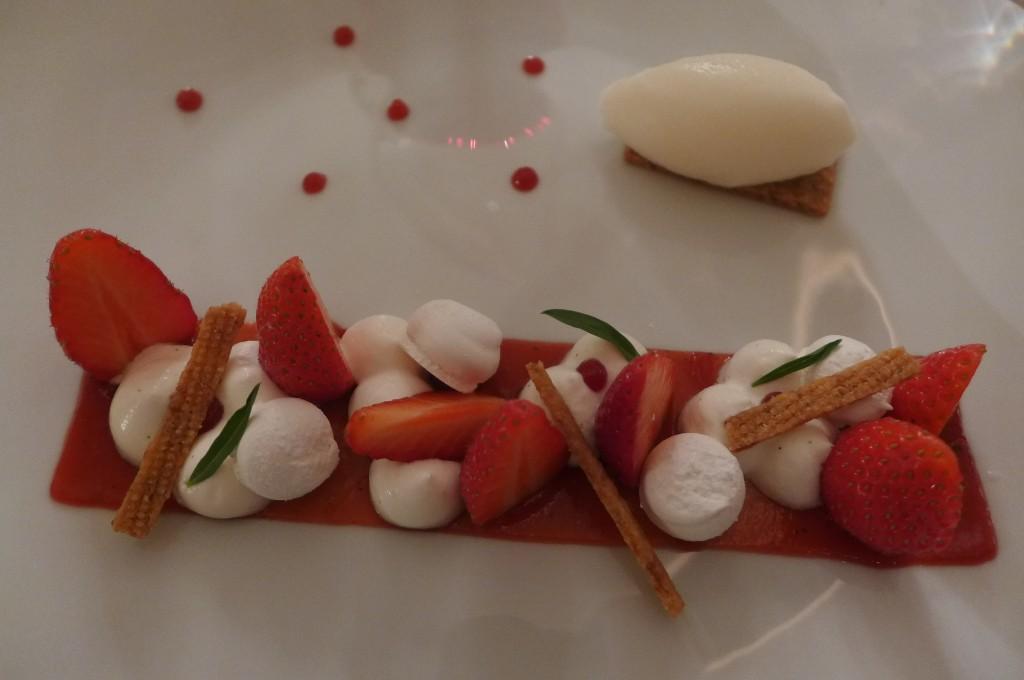 Fraise, vanille et yaourt © GP