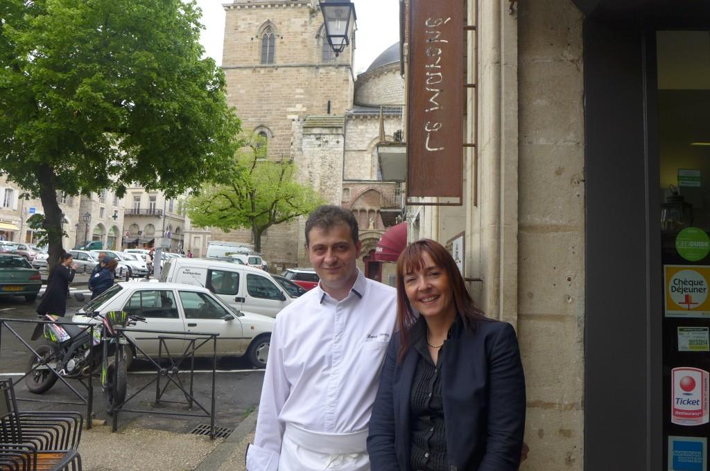 Hervé et Cécile Bourg © GP