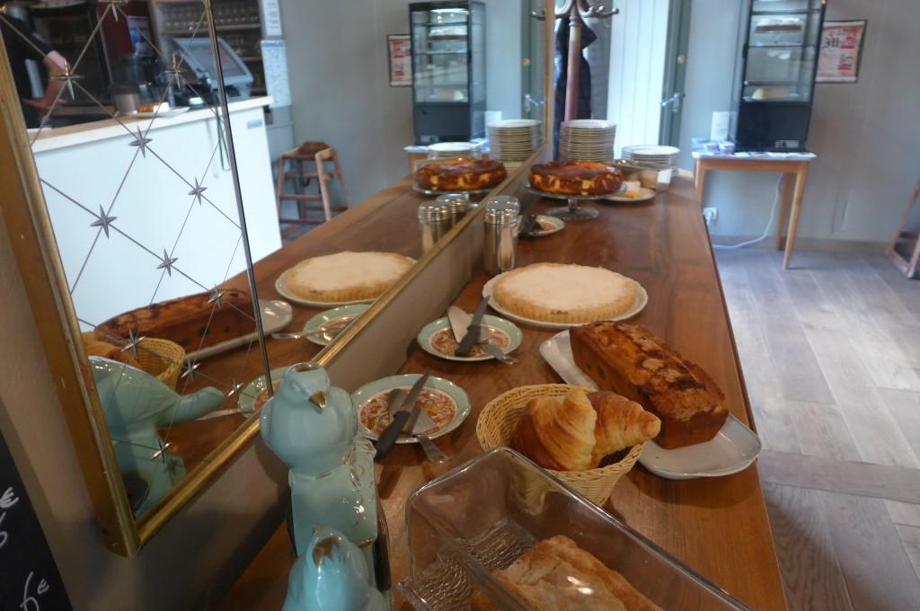 Les gâteaux du jour © GP
