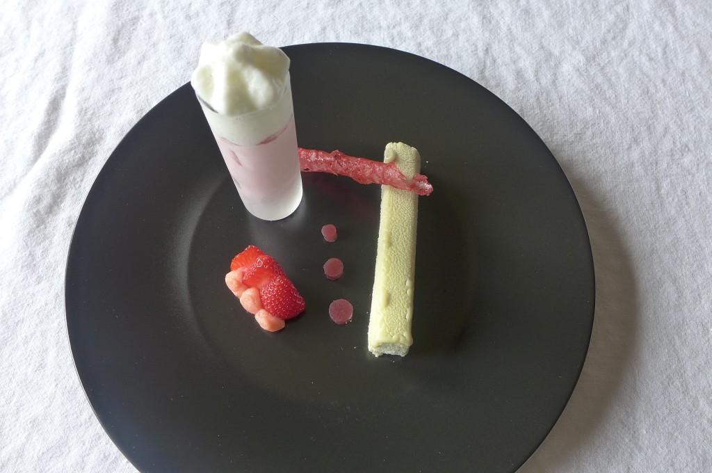 Variation de fraises et praliné © GP