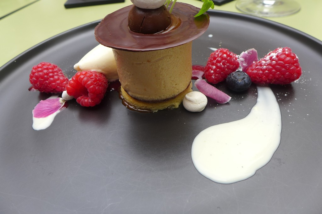 Tarte chocolat et caramel © GP