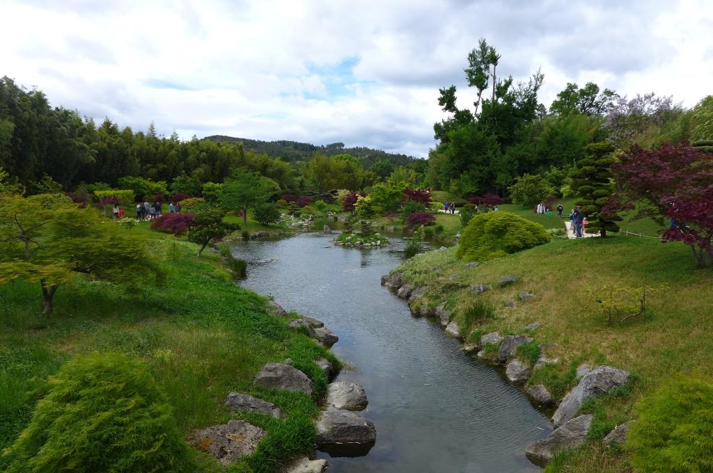 Un lac à la japonaise © GP