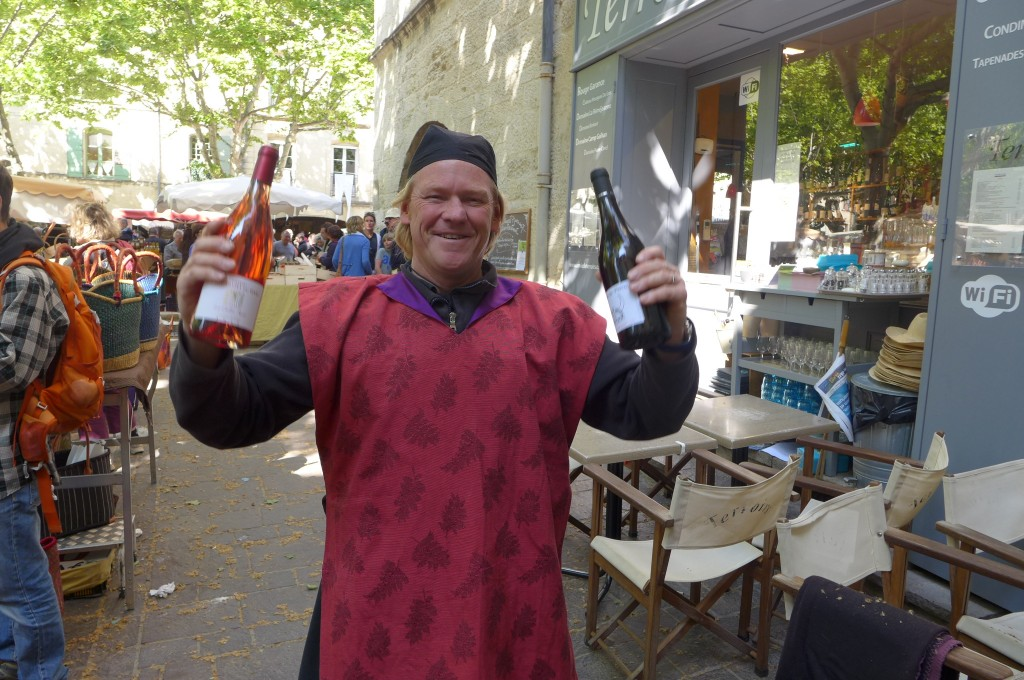 Tom Graisse, le jour du marché médiéval ©GP