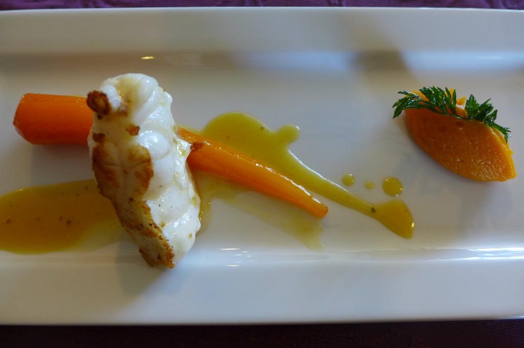 Lotte et carottes ©GP