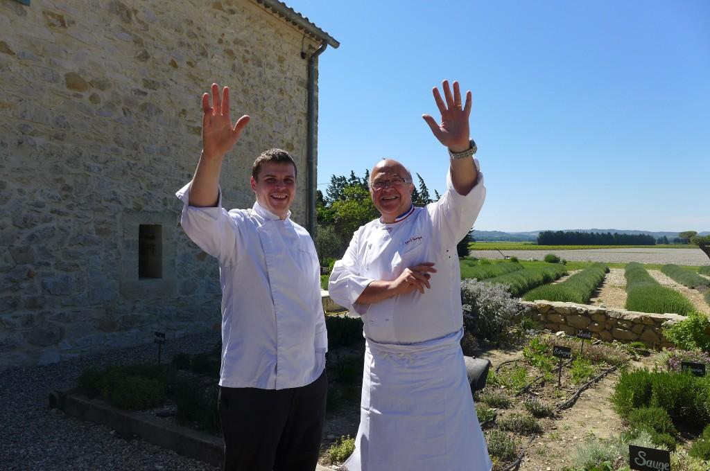 Entre vigne garrigue restaurant pujaut h tel serge chenet entre v - Entre vignes et garrigue ...