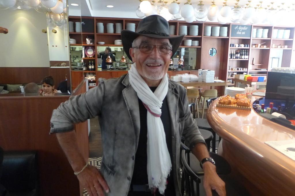 Gérard Cagna au Lazare ©GP