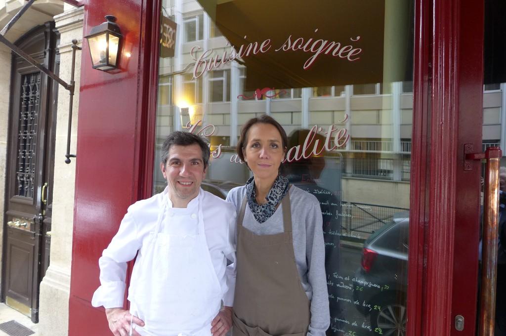 Jean-Baptiste et Virginie Gay © GP