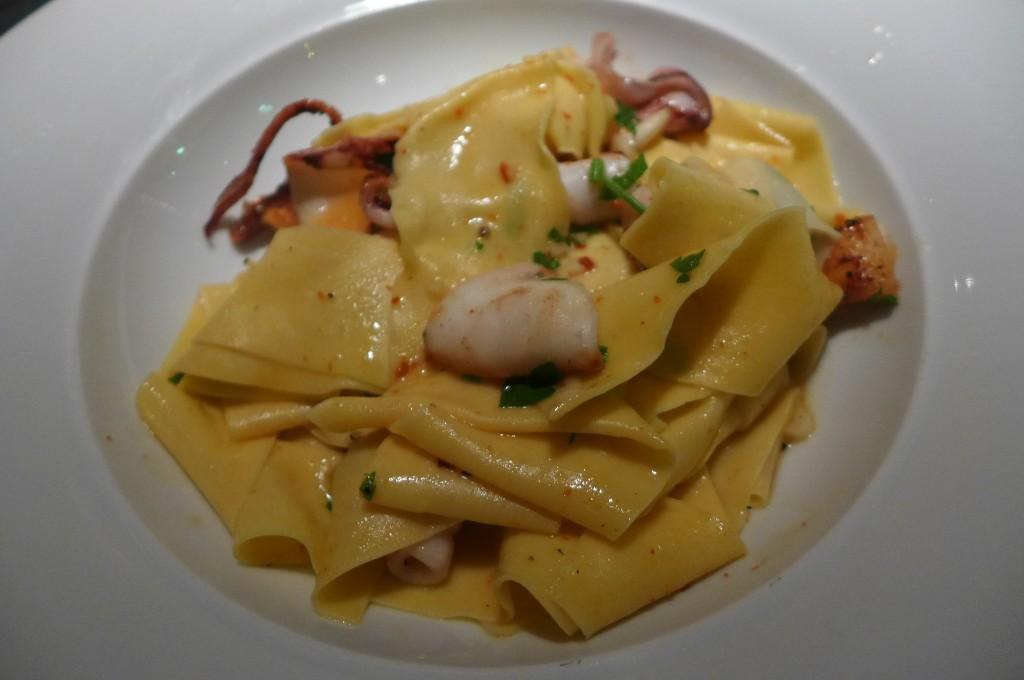 Fettucine aux calamars © GP