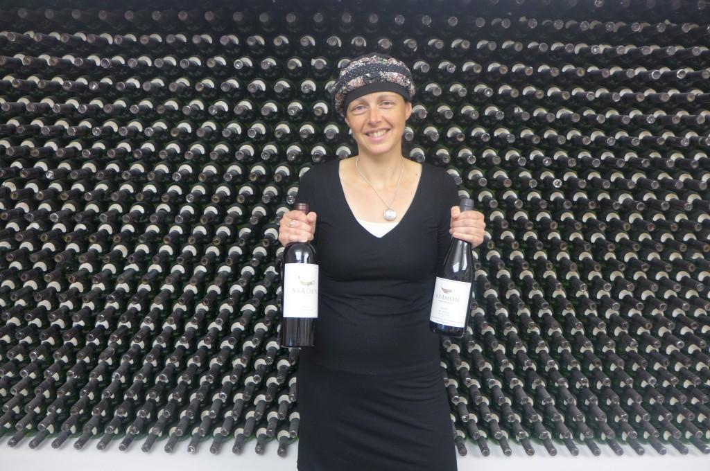Rebecca et les vins ©GP