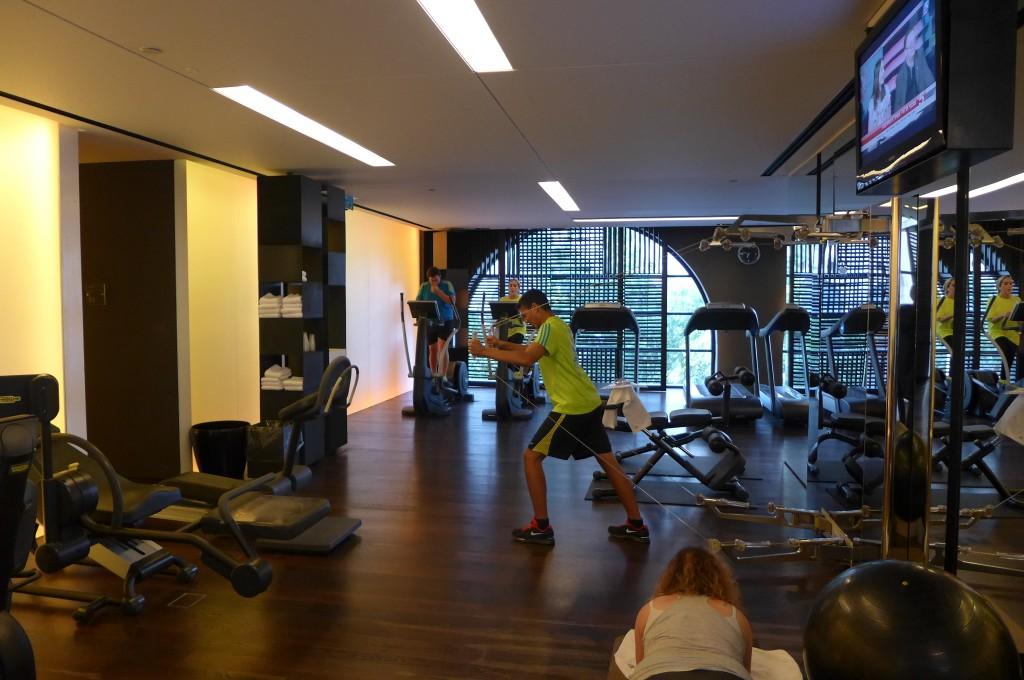 La salle de gym © GP