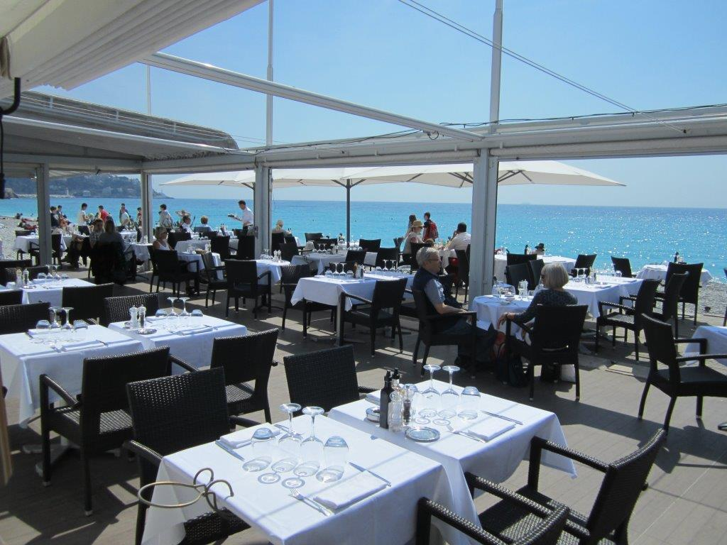 Plage du beau rivage restaurant nice au beau rivage for Aux beaux rivages la cuisine