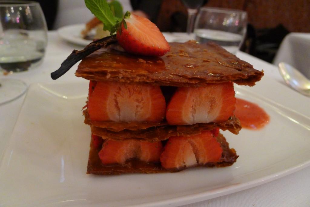 Mille-feuille aux fraises © JPE
