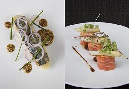 Maquereaux et saumon © MR