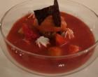 Rhubarbe et fraise laquées © GP