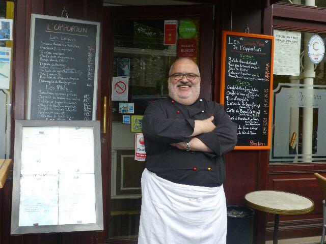Restaurant Opportun Paris