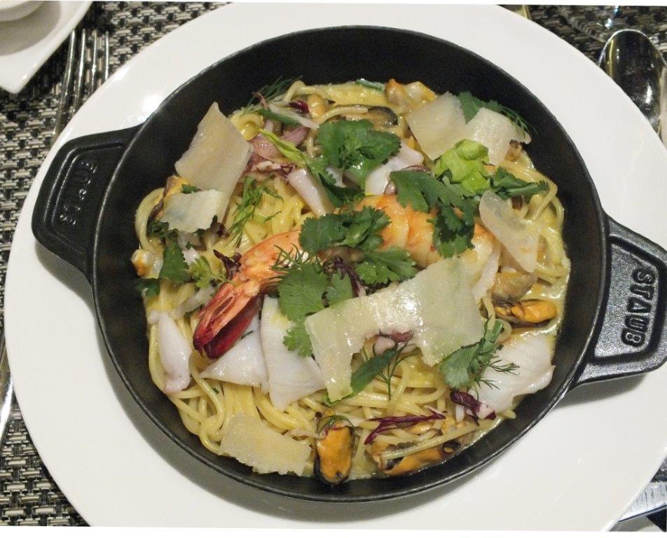 Spaghetti aux moules ©AA