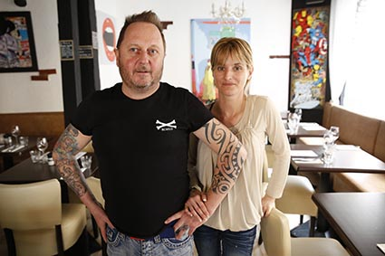 Jack Riout et son épouse ©GP