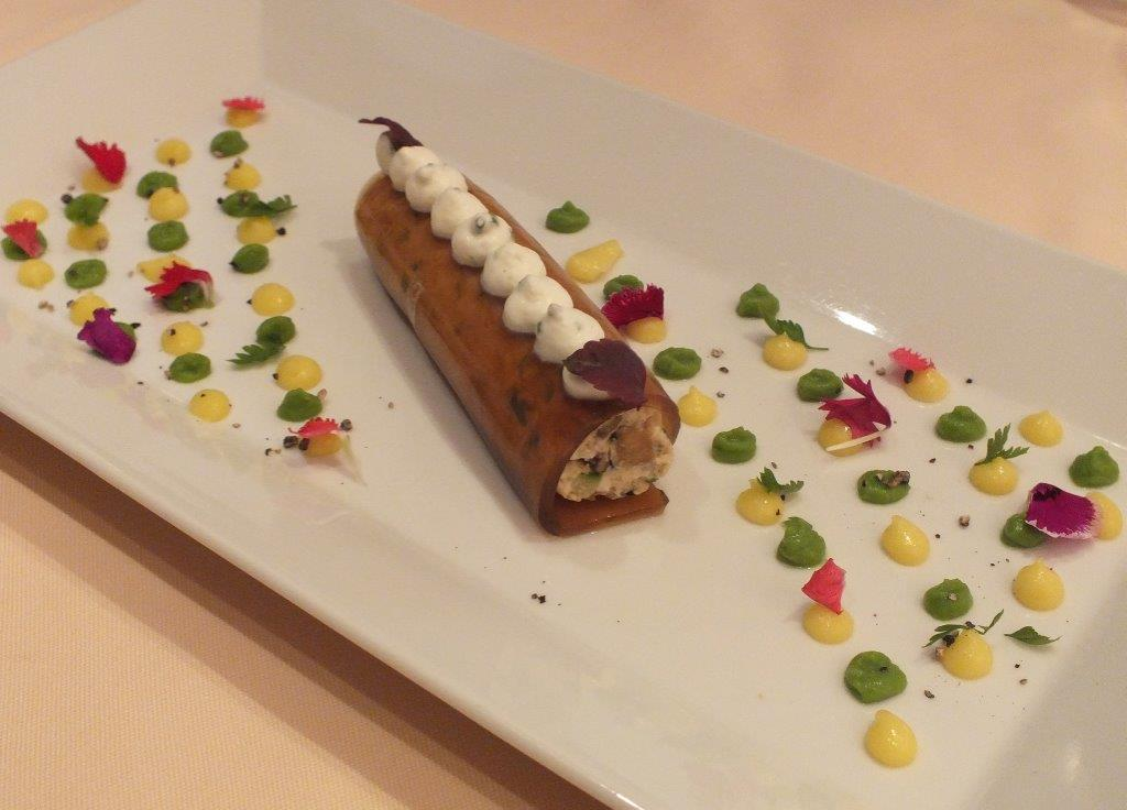 Cannelloni de crabe © AA
