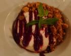 Mascarpone et coulis de fruits rouges © GP
